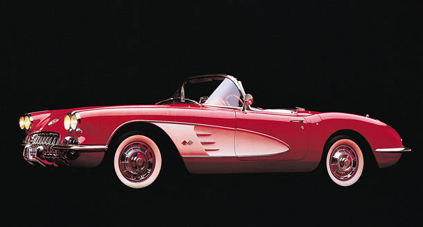 Chevrolet Corvette Convertible 1960 Cartype