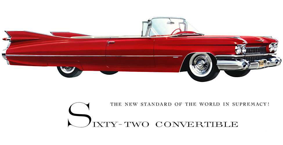 Cadillac Series 62 Convertible &quot-The Golden Ruby&quot- by John D ...