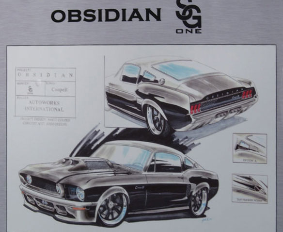 How to draw mustangs