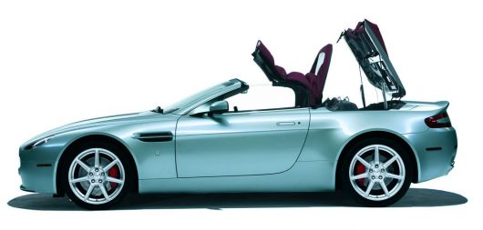 aston martin vantage roadster side9