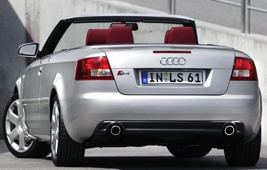 audi s4 covertible 4