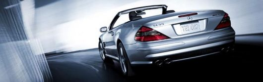 mercedes sl65amg rear1