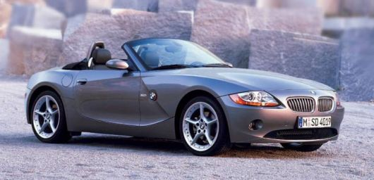 bmw z4 frontside