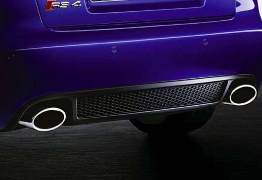 audi rs4 exhaust