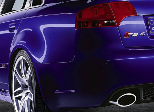 audi rs4 rear det
