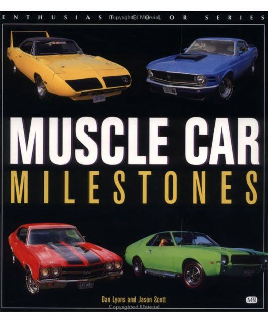 muscle car milestones