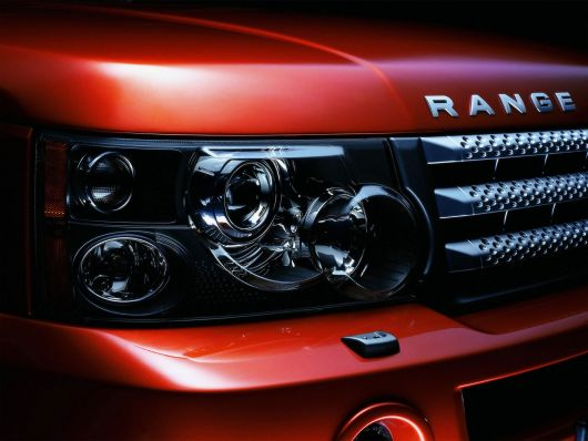 rangerover headlight