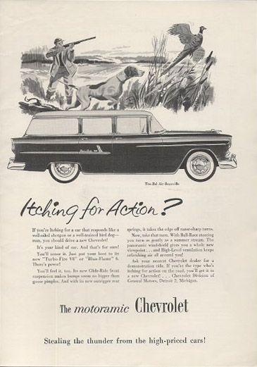 chevrolet bel air beauville station wagon 55