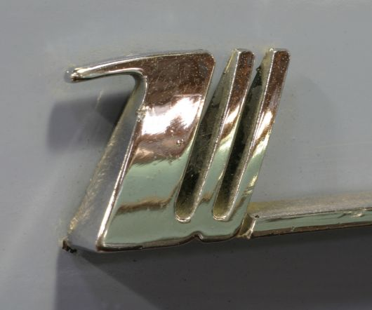 w emblem chrysler windsor s 55