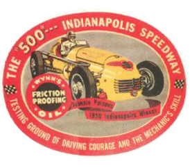1940 indy 500 johnnieparsons indianapolis speedway winner