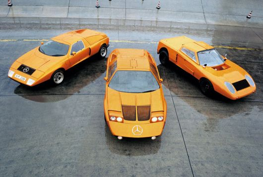 mercedes benz c111 set