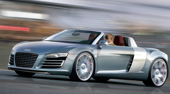 Audi R8 Roadster  2007  Cartype