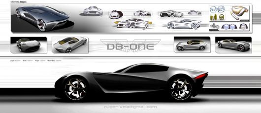 astonmartin db one draw1