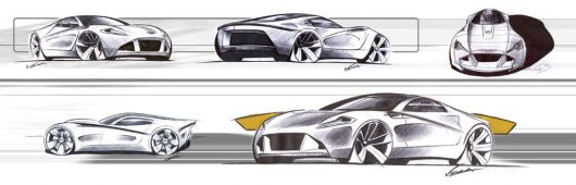 astonmartin db one draw2