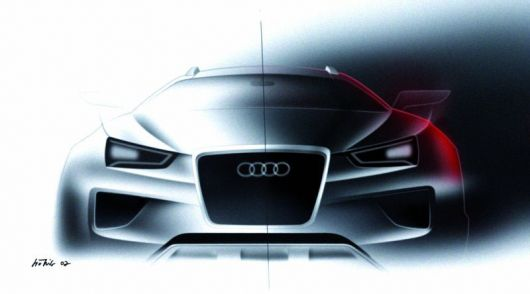 audi cross coupe quattro draw1