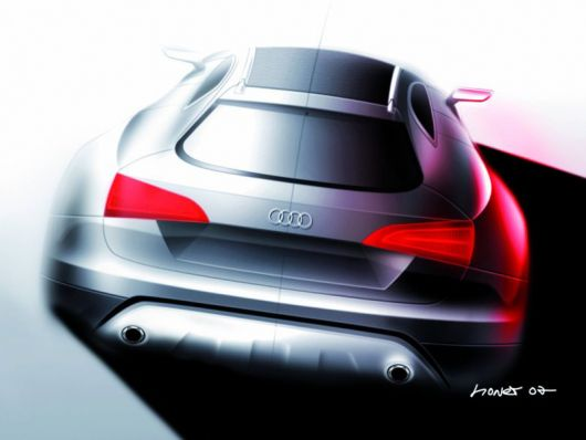 audi cross coupe quattro draw2
