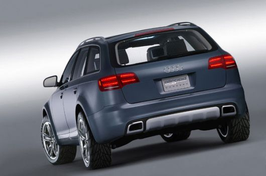 audi allroad rear
