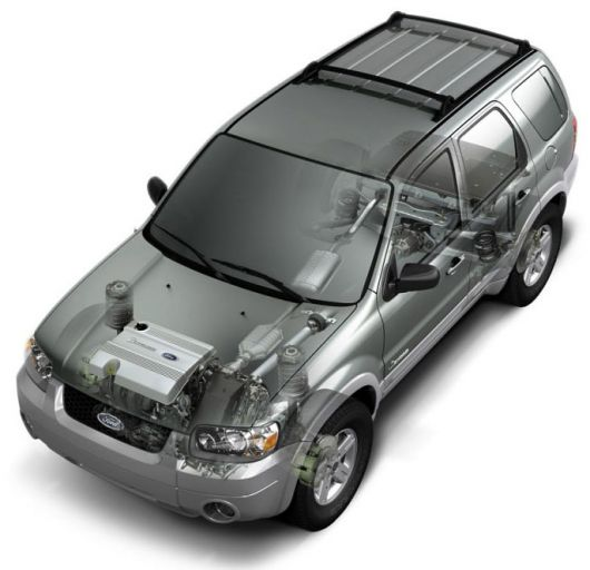 ford escape hybrid 2