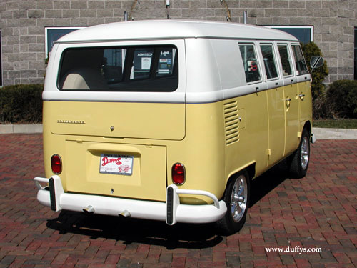 vw bus rear