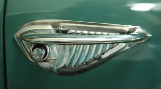 ford victoria custom deluxe door handle 51