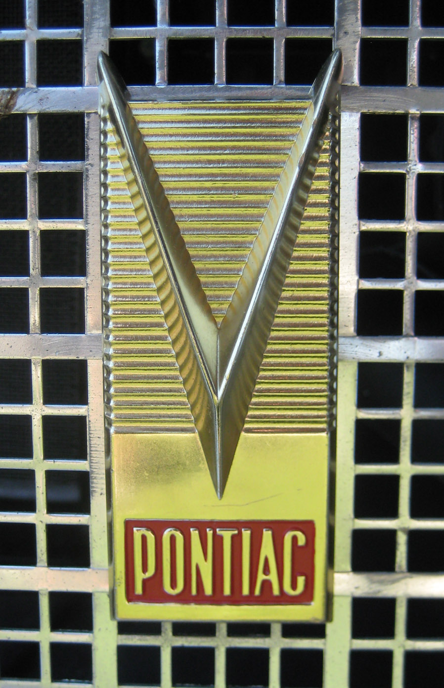 V emblems cartype pontiac chieftain v grill emblem 1 s biocorpaavc Choice Image
