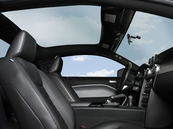 Ford Mustang Glass In2