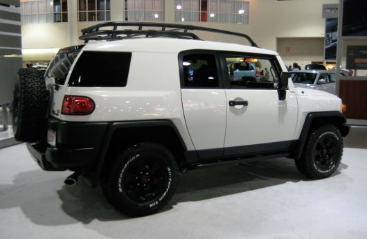toyota fj cruiser trail teams special edition show1