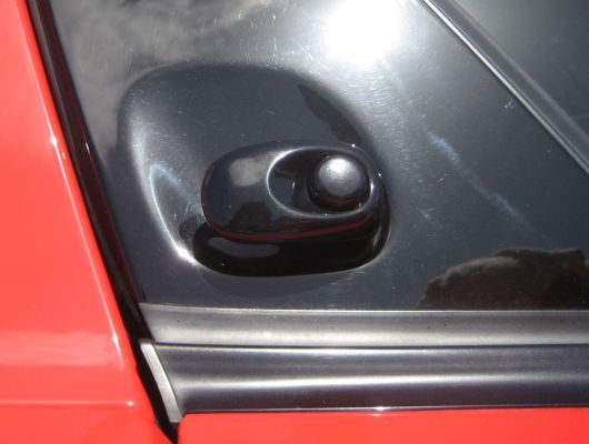 dodge viper gts coupe door handle 00