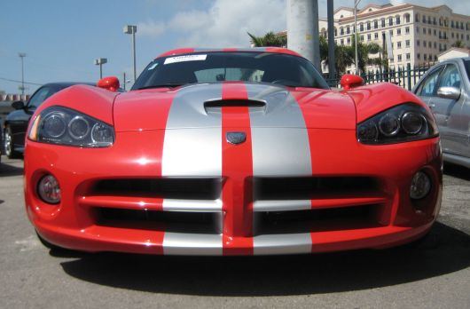 dodge viper srt10 coupe f 06