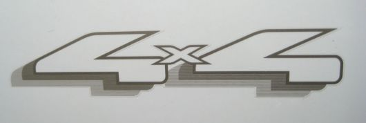 4x4 decal ford f150 triton