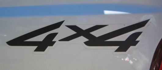 4x4 decal ford f250 super duty