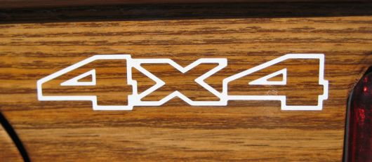 4x4 decal jeep wagoneer