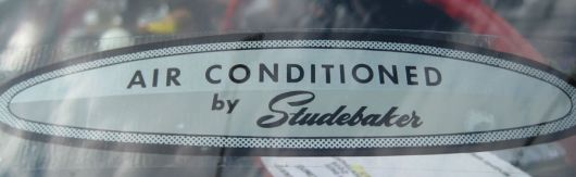 studebaker lark regal viii conv ac by studebaker decal 60