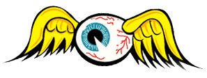von dutch flying eyeball logo