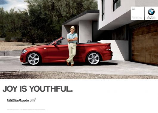 bmw joy is youthful ad