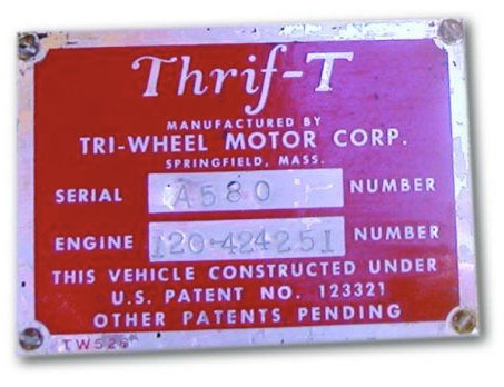 thrif t plaque