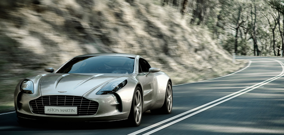 Delightful Aston Martin One 77 4 08