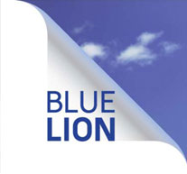 peugeot  blue lion logo
