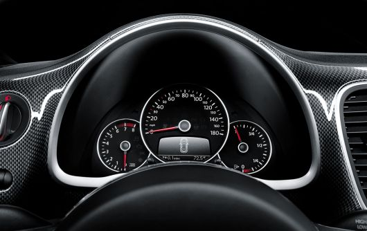 vw beetle gauge cluster 12