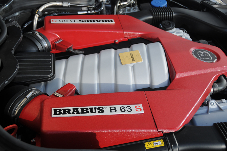 Brabus  73 hp for the C63 AMG  Cartype