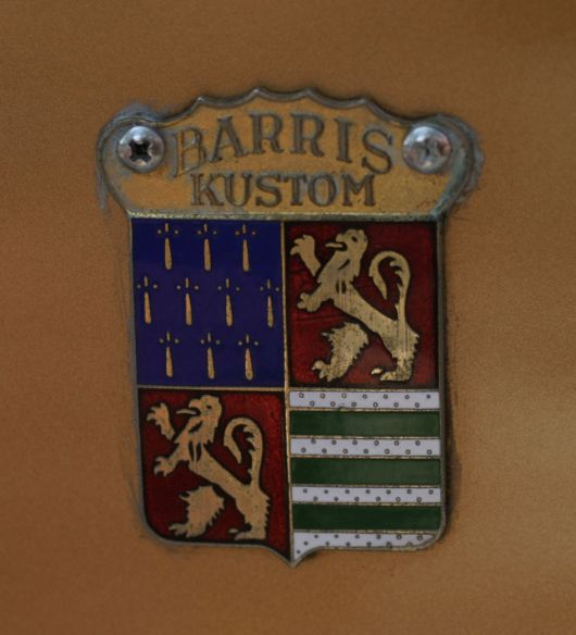 barris customs shield emblem