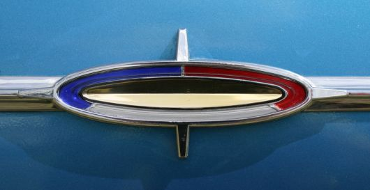 ford galaxie 500 shield emblem 64