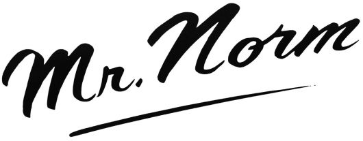 mr norm logo s