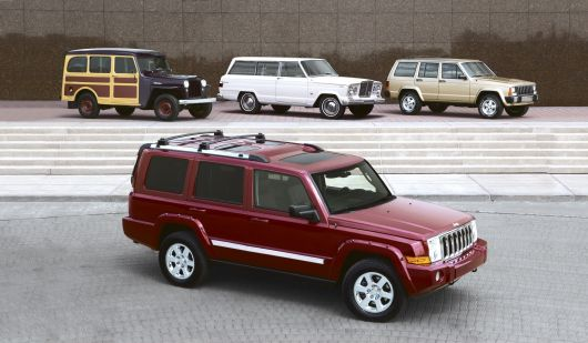 jeep commander set