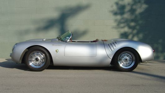 vs porsche spyder 550rs 55