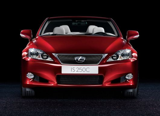 lexus is250c f1 09