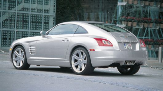 chrysler crossfire 08