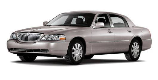 lincoln towncar 08