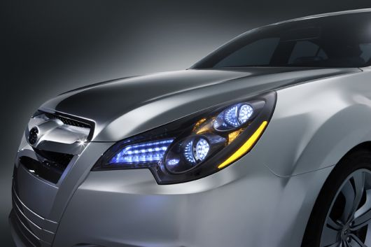 subaru legacy light 09