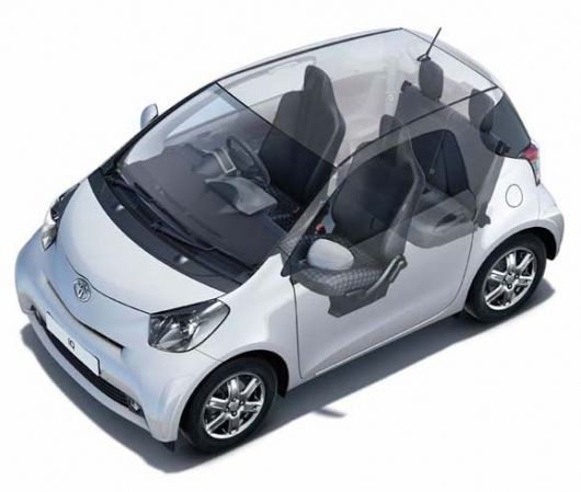 toyota iq 09 cut away 1